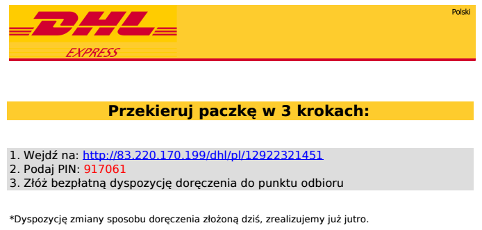 dhl phishing