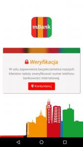 nakładka na aplikację mobilną mbanku