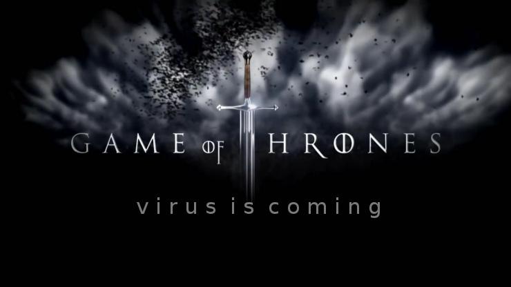 virus is coming