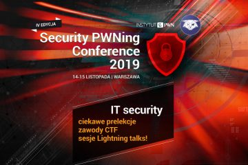 Security PWNing Conference 2019
