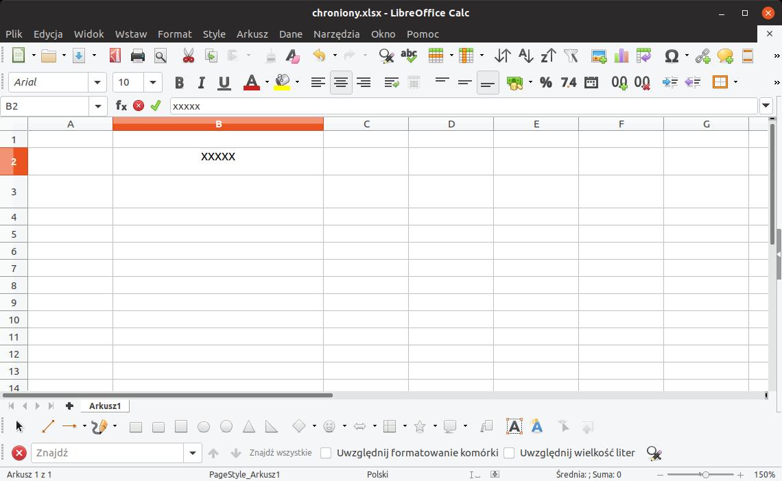 modyfikacja chronionych komórek w Excelu