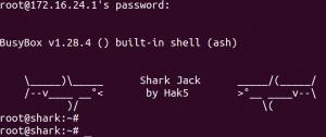 shark jack shell