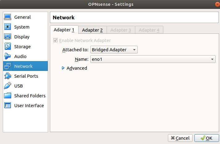 Instalacja firewalla OPNsense - krok 4.