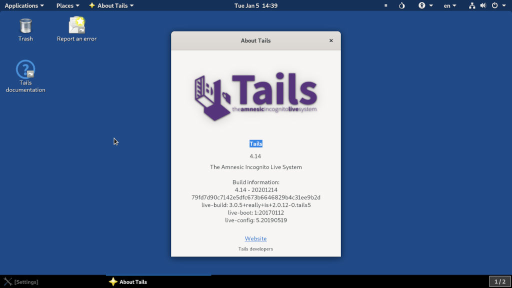 System Tails